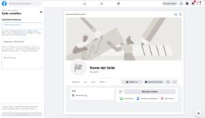 Facebook Seite erstellen