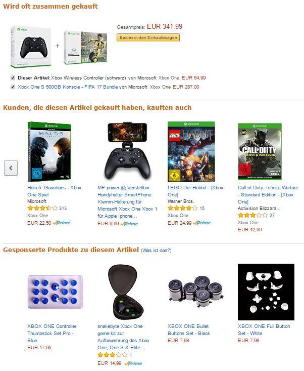 Amazon Cross Selling