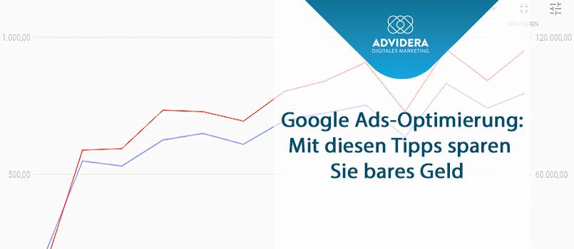Sinnbild Google Ads Optimierung.