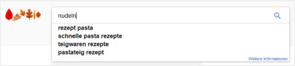 Keywordrecherche mit Google