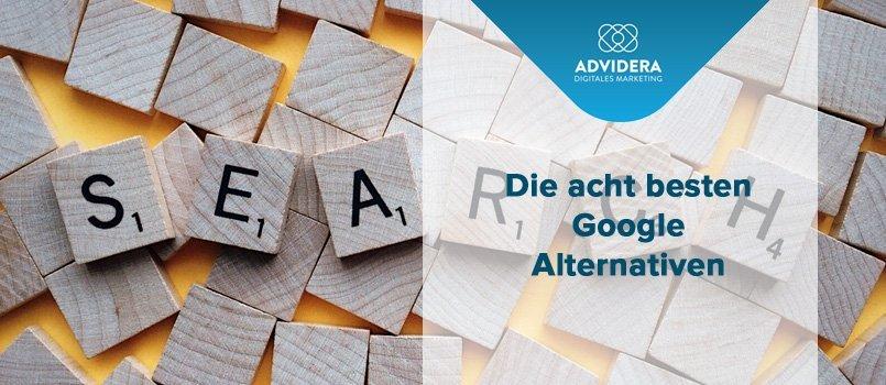 8 besten Google Alternativen