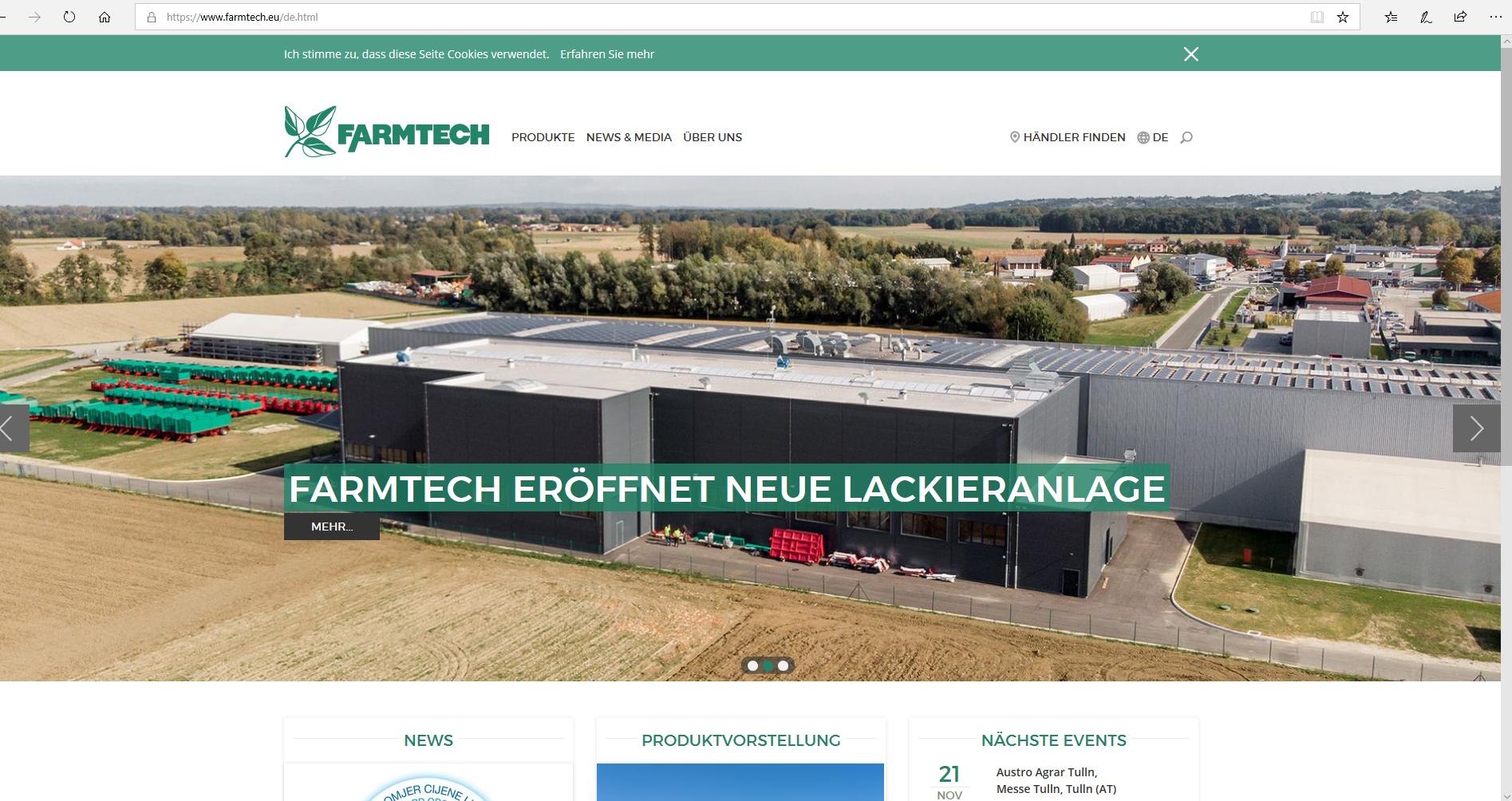 Startseite Farmtech