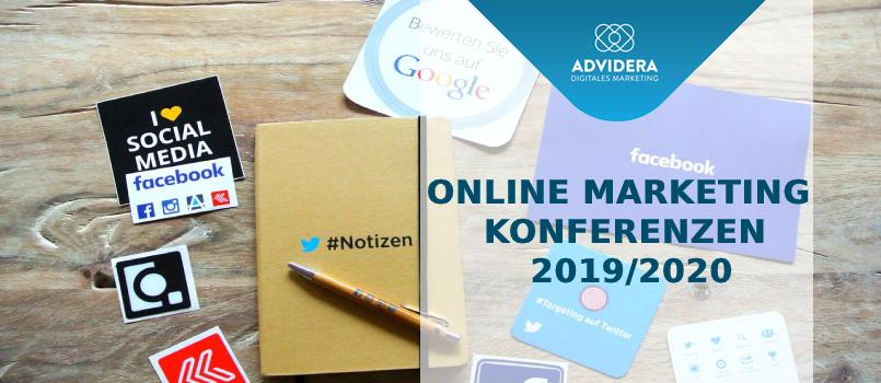 Online Marketing Konferenzen 2019/2020