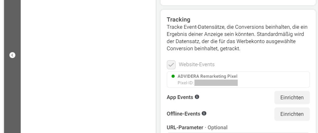 Tracking Facebook Pixel