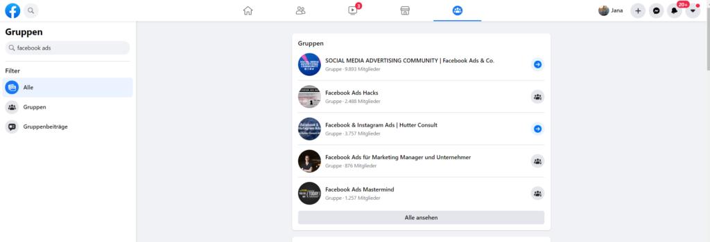 Facebook Advertising lernen