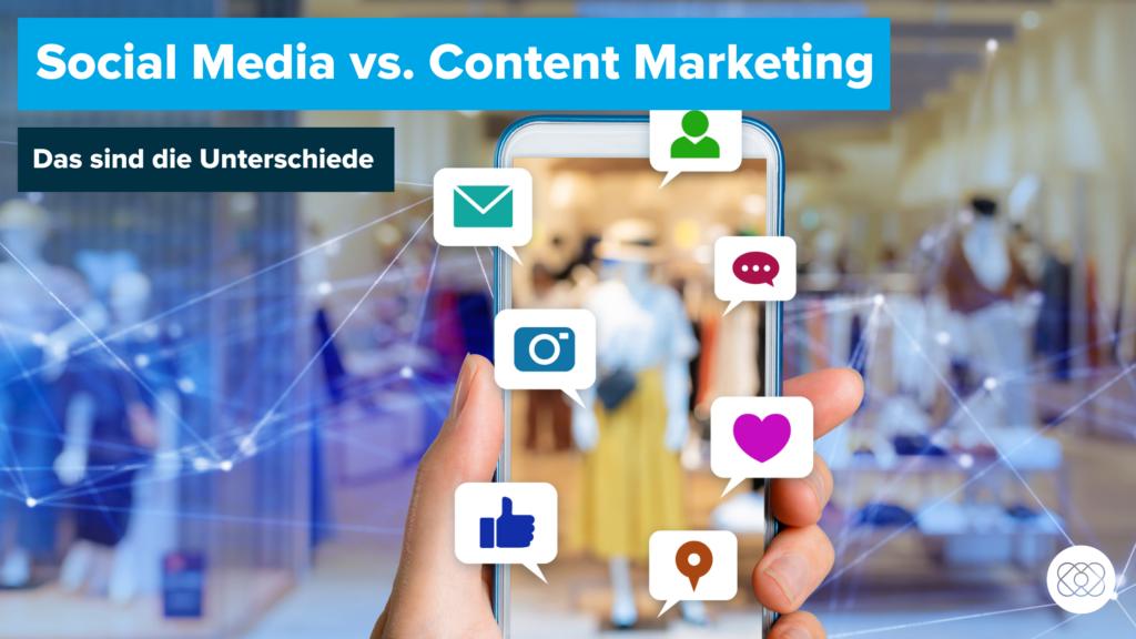 Social Media Marketing vs. Content Marketing