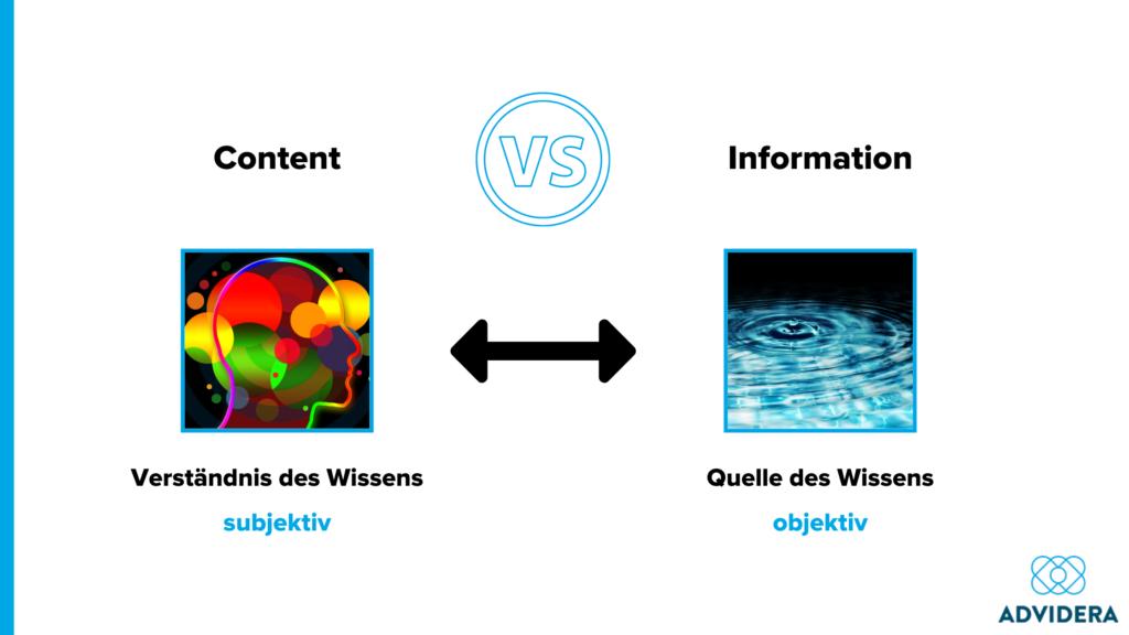 Content u Information