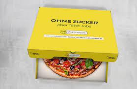 Beispiel Außenwerbung Pizza