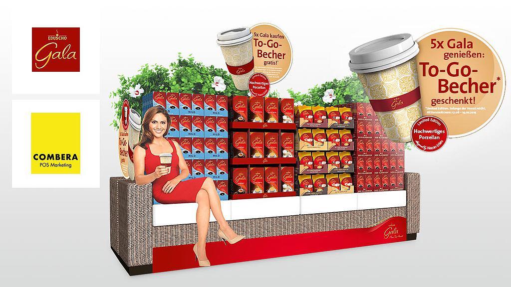 Merchandising Beispiel Gala