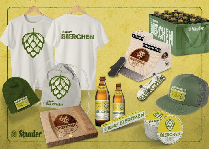 Merchandising Beispiel Brauerei