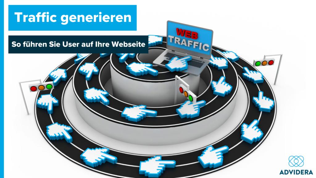 Traffic generieren Beitragsbild