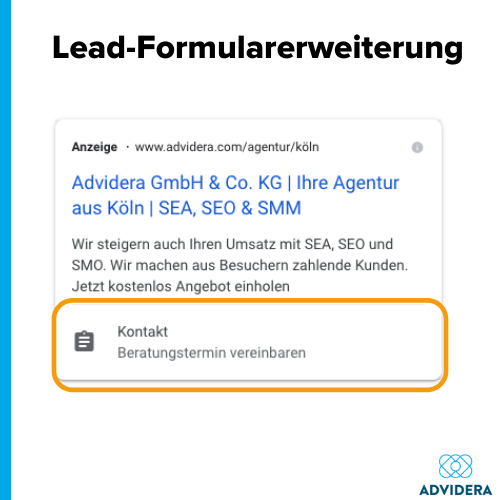 Anzeigenerweiterungen_Lead-Formularerweiterung