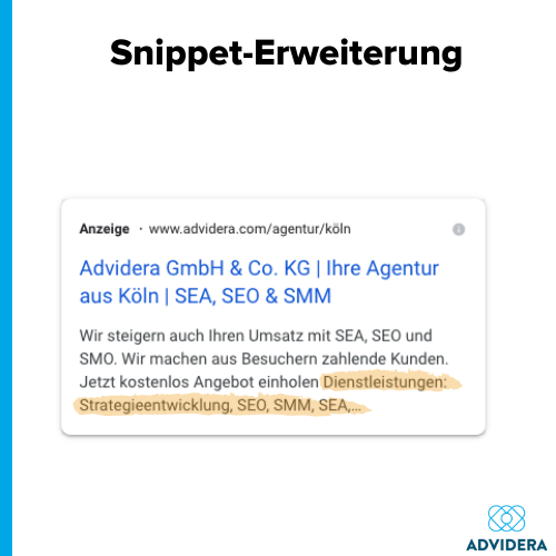 Anzeigenerweiterungen_Snippet