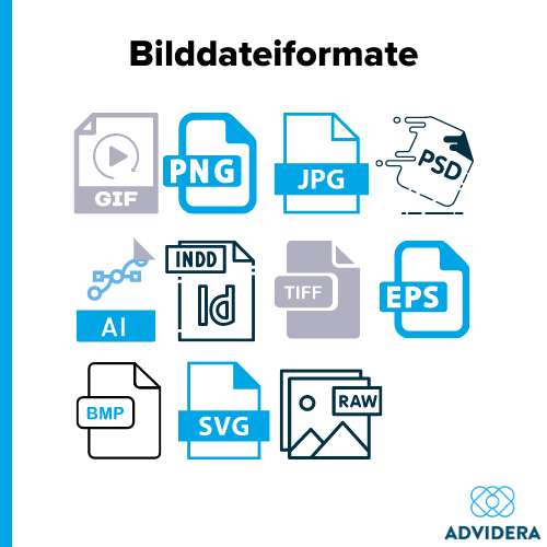 Bilddateiformate Logos