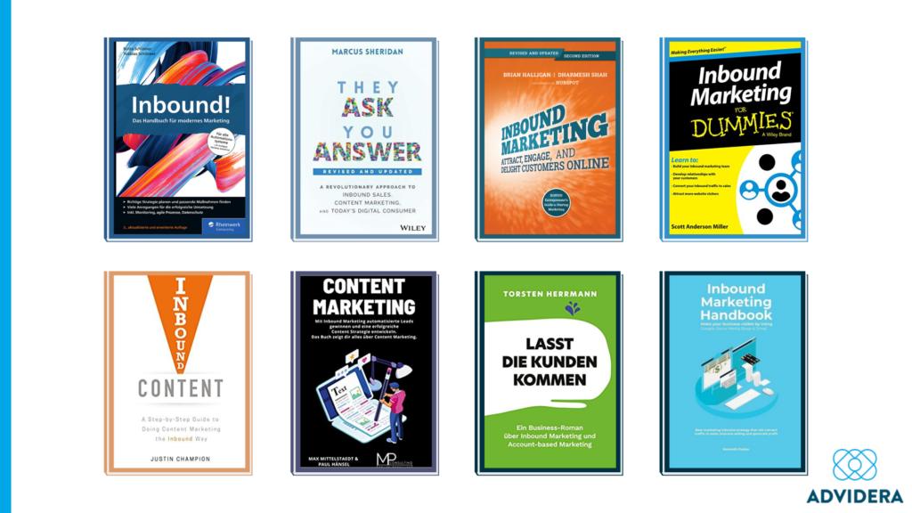 Inbound Marketing Buch Buchcover Übersicht