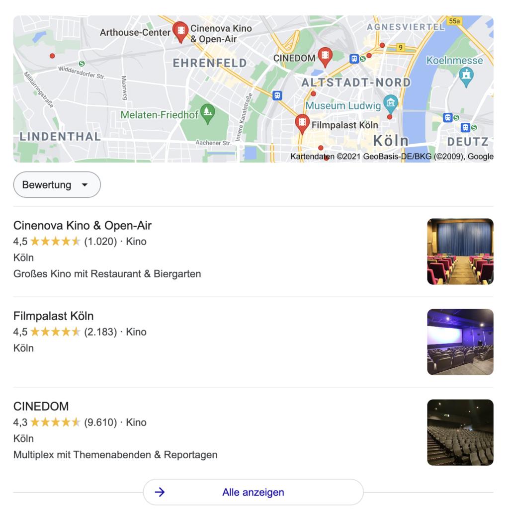 Local SEO Local Pack Google