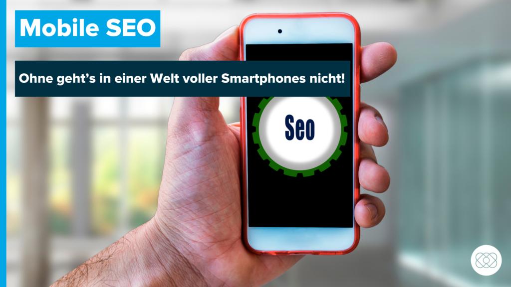 Mobile SEO Beitragsbild mit Überschrift