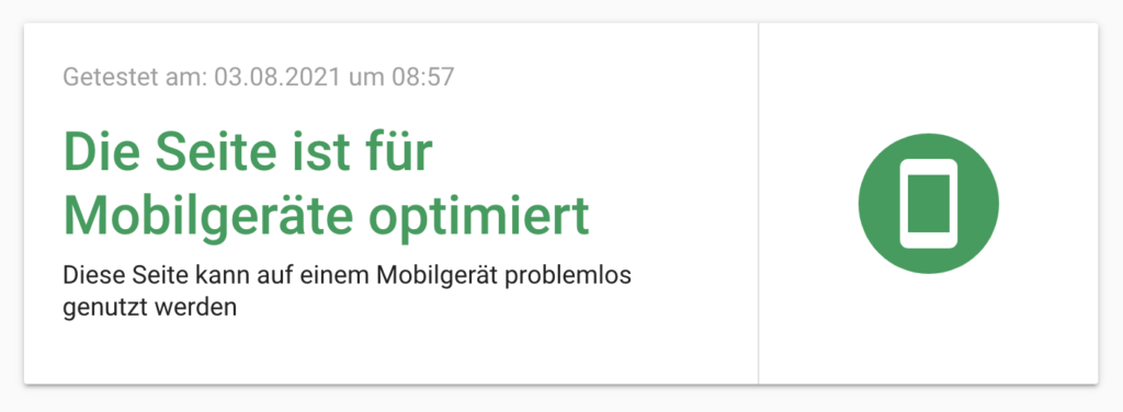 MobileFriendly Test Google Mobile SEO