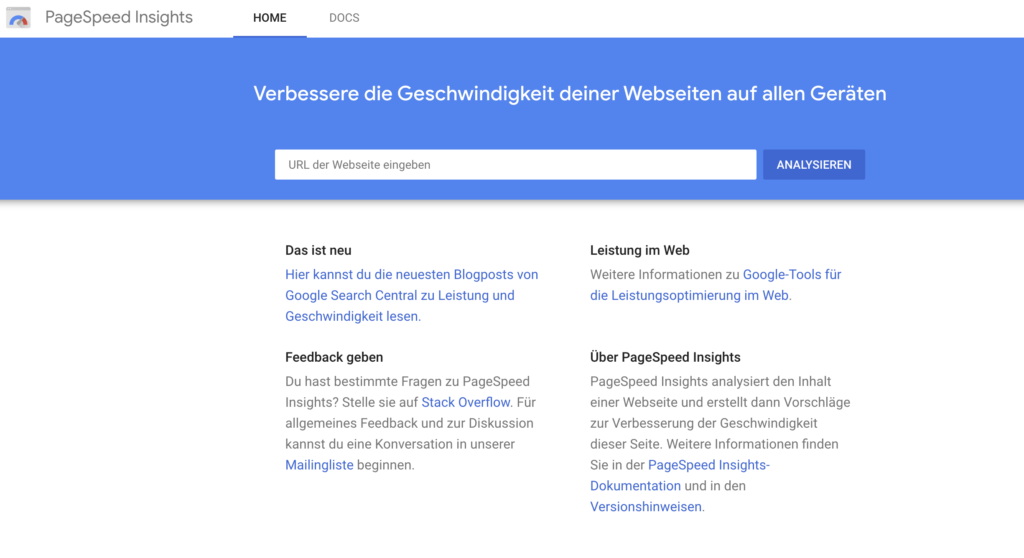 Google PageSpeed Insights Mobile SEO