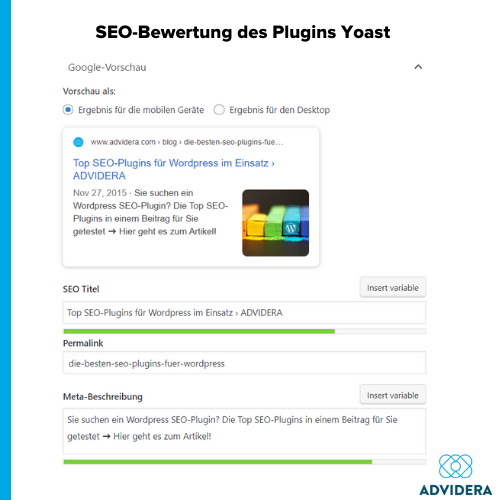 Yoast SEO auf WordPress