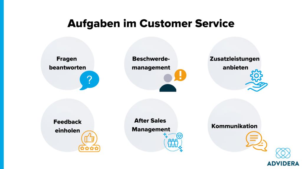 Aufgaben im Customer Service