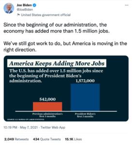 Infografik: Joe Biden